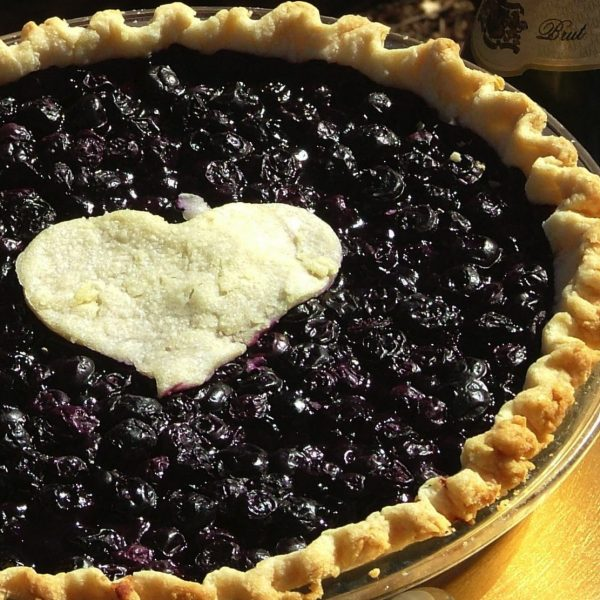 Sacrebleu blueberry & cabernet wine