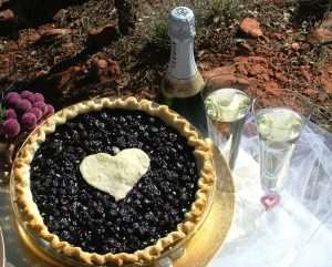 sacrebleu wedding pie