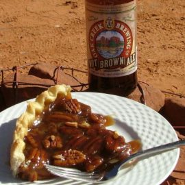 Brown Beer Pie Pairing