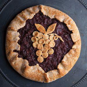 raisin apple pie