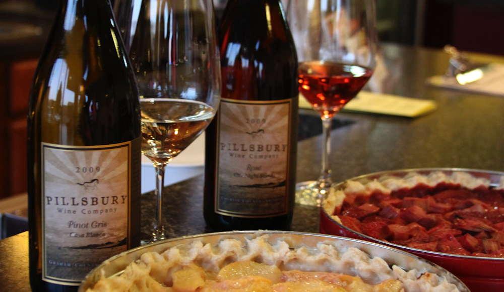 Wine & pies