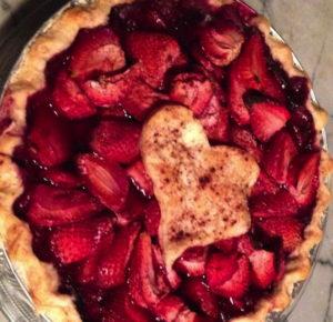 Red - Strawberry pie