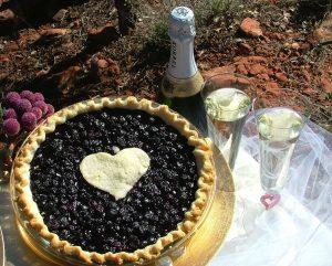 verde wine & pies