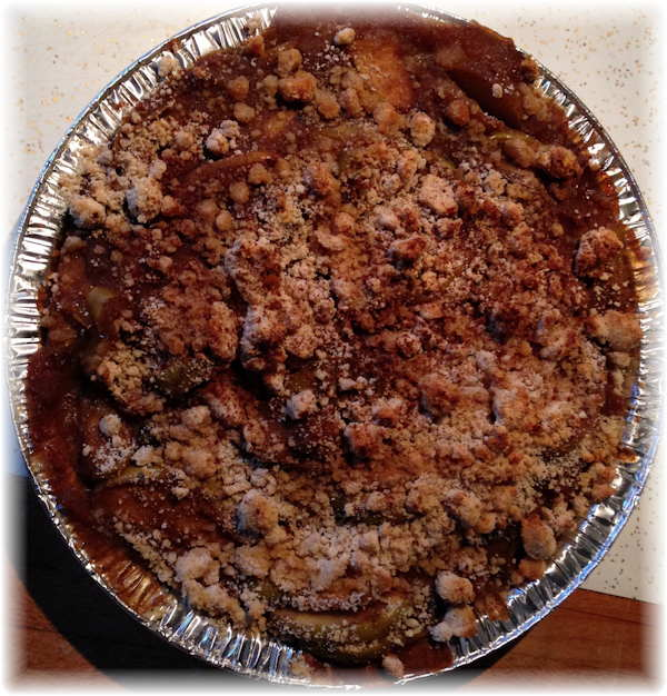 crumble pie