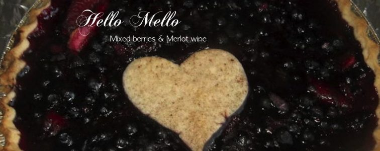 mixed berries & merlot wine