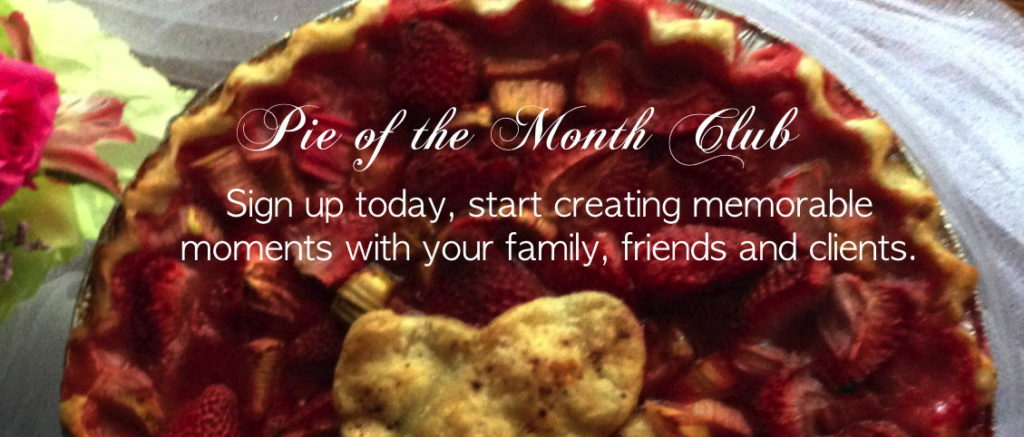 pie of the month club, subscription