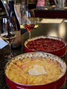 Wine pies