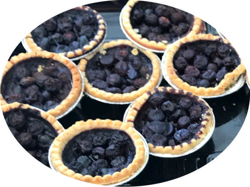 tarts blueberry