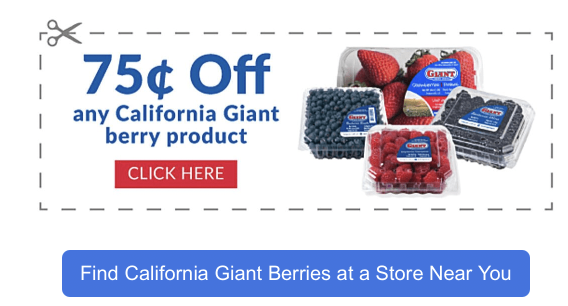 Giant Berries - coupon